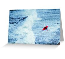 Kayak Greeting Card