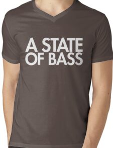 A State Of Bass  Mens V-Neck T-Shirt