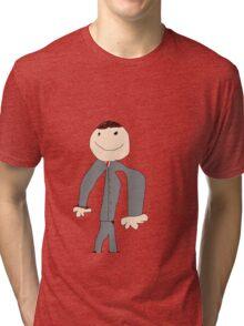 HERE LOOK AT A SHIRT Tri-blend T-Shirt