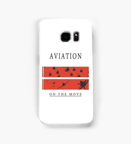 Aviation on the Move Samsung Galaxy Case/Skin