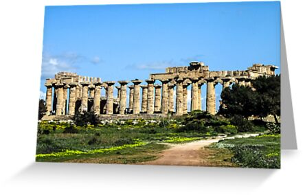"""Temple Of Hera - Temple """"E"""" by jules572"""