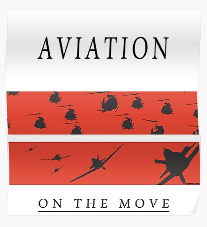 Aviation on the Move Poster