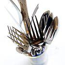 Old silverware by Harald Walker