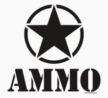 AMMO with Army Invasion Star by Tony  Bazidlo