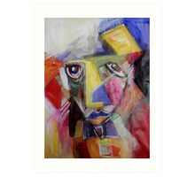 I Get Up In The Morning And My Lips Are Blue Art Print