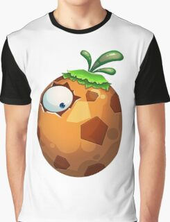 The Plant Egg Monster Graphic T-Shirt