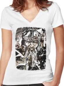 Gimli Women's Fitted V-Neck T-Shirt