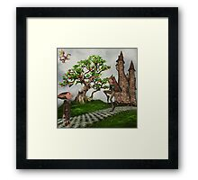 If You're a Dreamer... Framed Print
