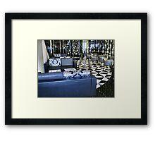 Blue Room - Crown Casino - Melbourne Framed Print
