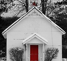 Snow Scene by KatillacPhotos