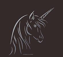 Unicorn - Einhorn by fuxart