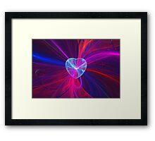 Heart and Swirls Framed Print