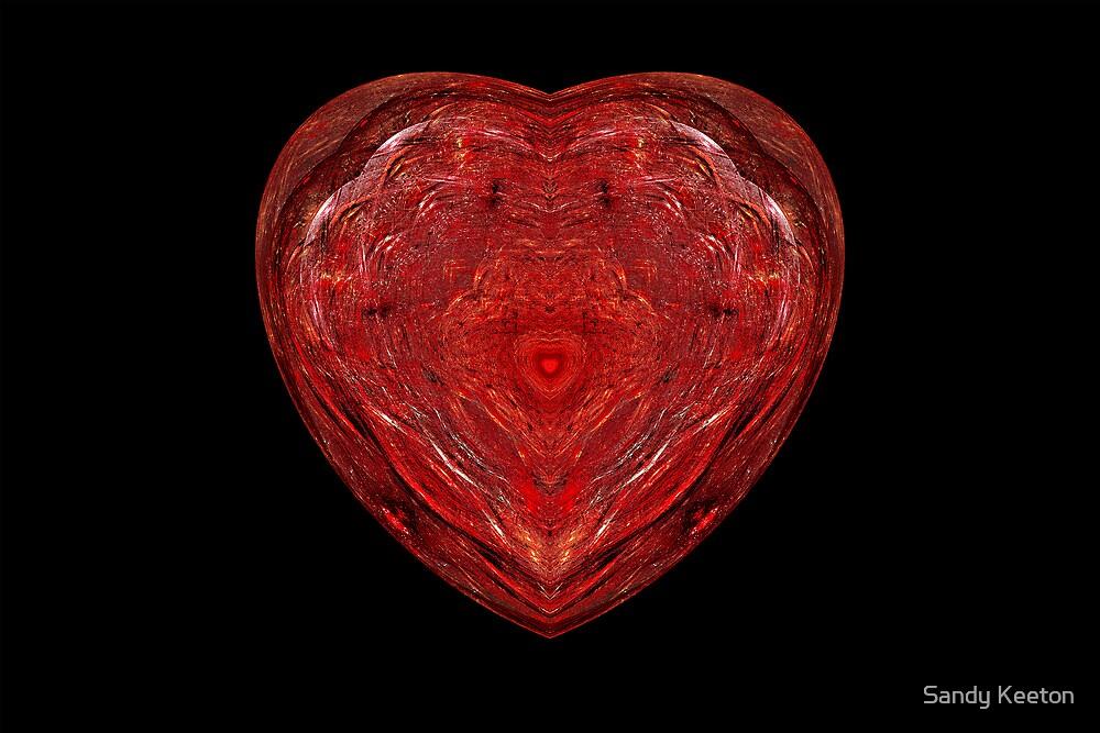 Glass Heart by Sandy Keeton