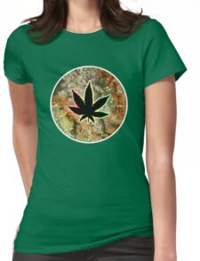 Cannabis Macro - iPhone Case Womens Fitted T-Shirt