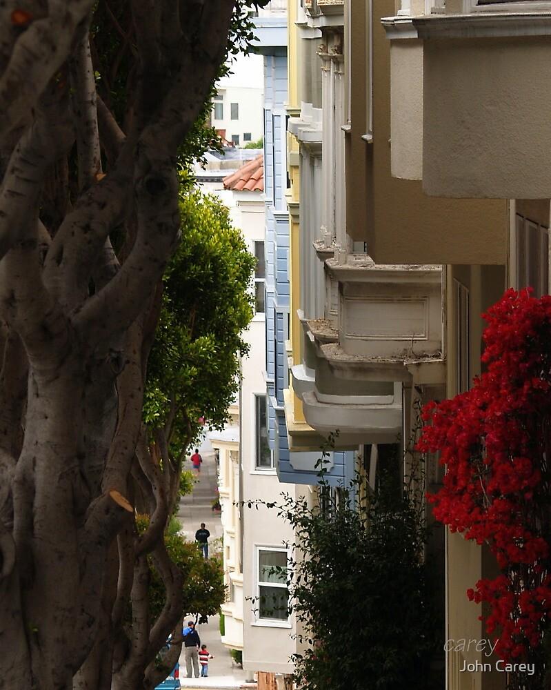 San Francisco Row II by John Carey
