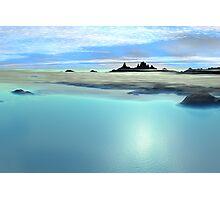 Continents Edge Photographic Print