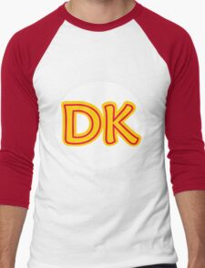 He's the leader of the bunch. He's DK! Donkey Kong! Men's Baseball ¾ T-Shirt