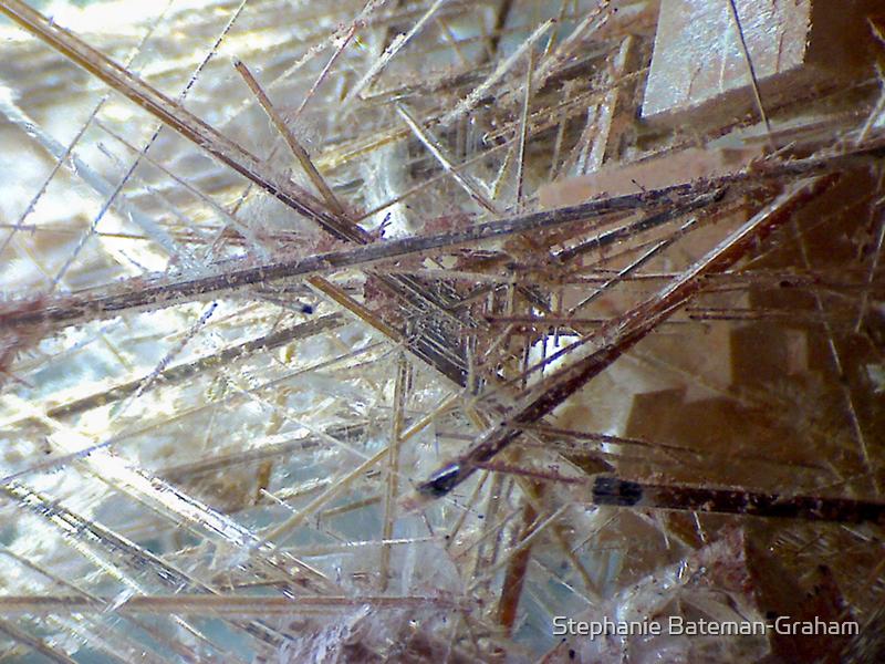 Sticks And Stones (Rutilated Quartz) by Stephanie Bateman-Graham