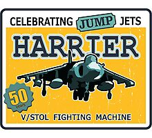 Celebrating Jump Jets Photographic Print