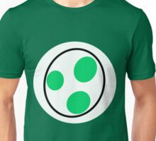 A bottomless pit of a stomach, green, a dinosaur, you guessed it, YOSHI! Unisex T-Shirt