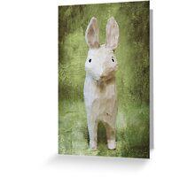 4x6 Vintage-Inspired Rabbit Print Greeting Card