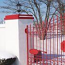 Calumet Gate in Snow by John Carey