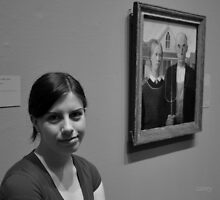 American Gothic Daughter by John Carey