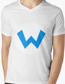 Oh-boy! It's Wario!! Mens V-Neck T-Shirt