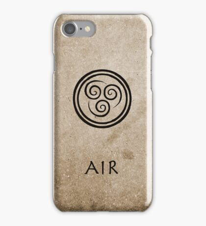 Avatar Last Airbender Elements - Air iPhone Case/Skin