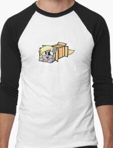 Derpy in a box Men's Baseball ¾ T-Shirt
