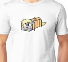 Derpy in a box Unisex T-Shirt