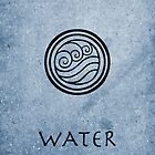 Avatar Last Airbender Elements - Water by briandublin