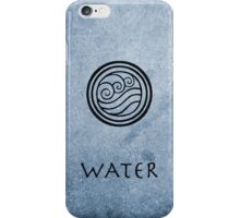 Avatar Last Airbender Elements - Water iPhone Case/Skin