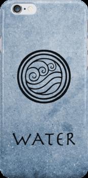 Avatar Last Airbender Elements - Water by briandublin