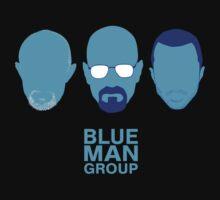 Breaking Bad - Blue Man Group v02 by thekinginyellow