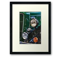 Hemings Truck Framed Print