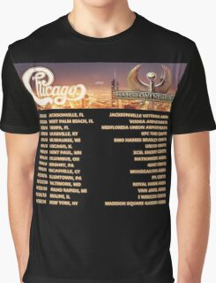 CHICAGO EARTH WIND FIRE TOUR DATES 2016 Graphic T-Shirt