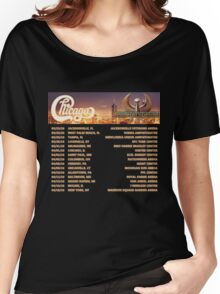 CHICAGO EARTH WIND FIRE TOUR DATES 2016 Women's Relaxed Fit T-Shirt