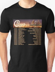 CHICAGO EARTH WIND FIRE TOUR DATES 2016 T-Shirt