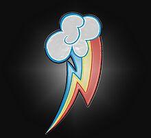 Rainbow Dash Cutie Mark by Trony13