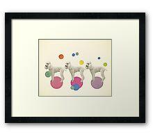 Oodles of Poodles Framed Print