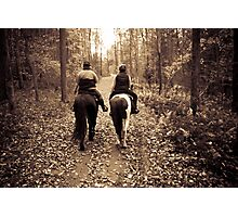 Together we walk Photographic Print