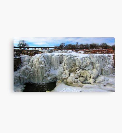 Frostbite Falls Canvas Print