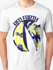 Red Earth (Ocean Blue) by Rea Dora T-Shirt