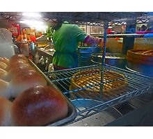 Pork Buns in China Town Photographic Print