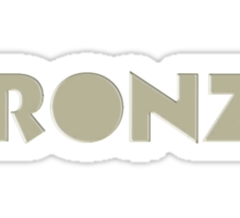 The Bronze Sticker