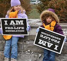 March for Life - Plate # I by Matsumoto