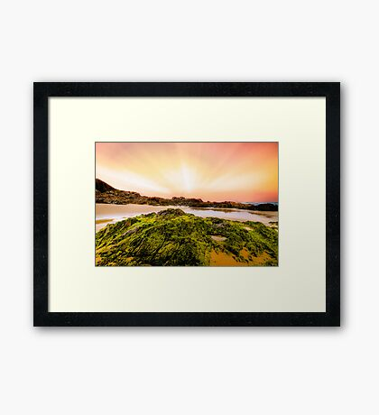 Saltwater Beach NSW Australia Framed Print