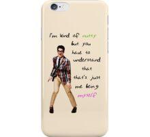 I'm Nutty iPhone Case/Skin