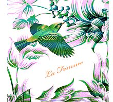 Bird in flight - Illustration iPad Case  by LjMaxx
